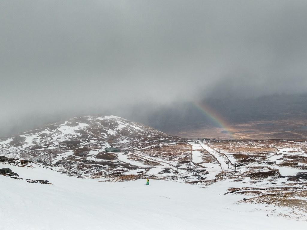 Rainbow at Glencoe