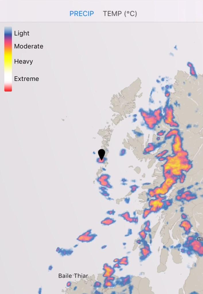 dark sky radar