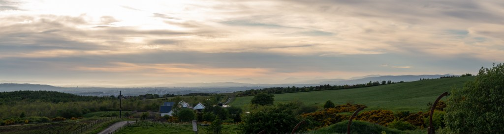 view from Cathkin Braes