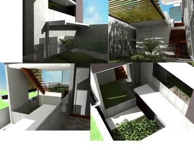 Menyiasati Lahan Sempit dengan Rumah Split Level  Hamdil