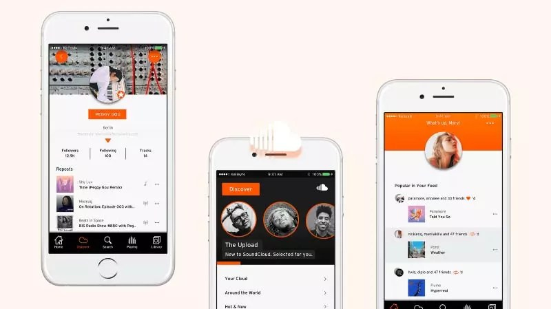 SOUNDCLOUD 10 Aplikasi Pemutar Musik Paling Populer