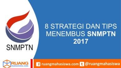 strategi dan tips snmptn 2017