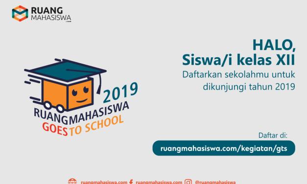 Ruang Mahasiswa Goes To School 2019