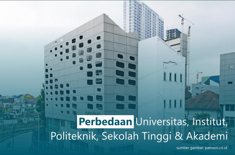 5 Jenis Perguruan Tinggi di Indonesia, Ini Perbedaannya
