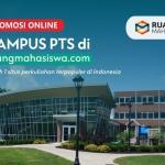 PROMOSI ONLINE – Kampus Perguruan Tinggi Swasta (PTS)