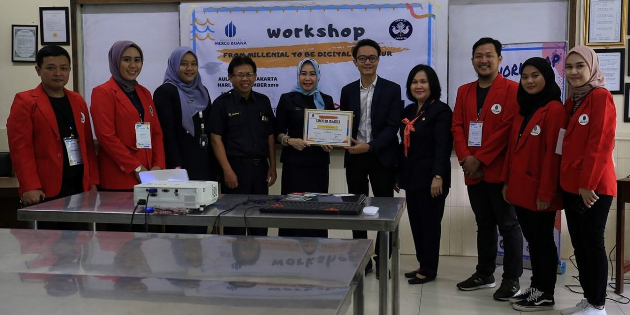 Universitas Mercu Buana gelar Workshop menjadi Digitalpreneur