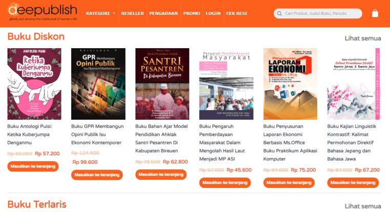 beli buku kuliah di toko online pilihan mahasiswa