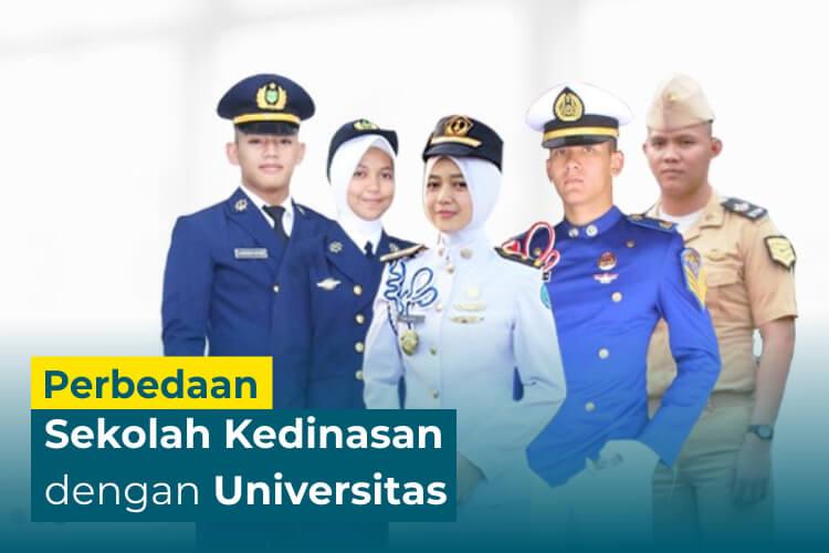 6 Perbedaan antara Sekolah Kedinasan dan Universitas