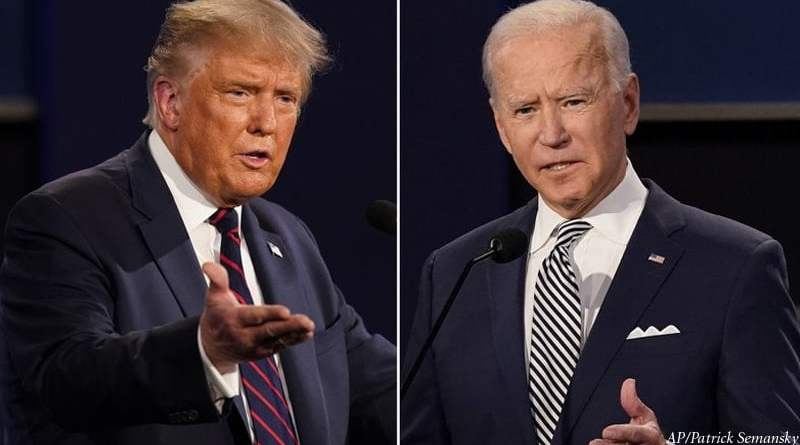 Hasil Voting Sengit Biden vs Trump