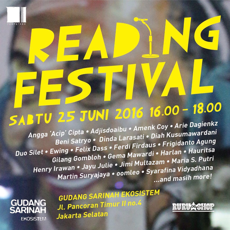 """RURU READING FESTIVAL"""