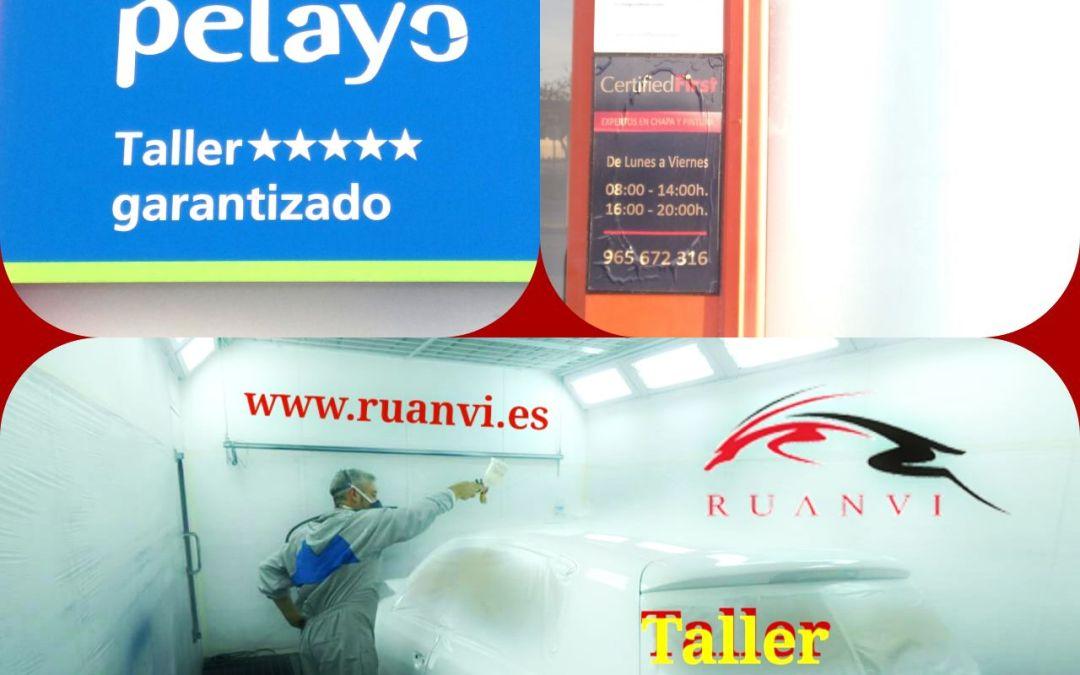 Ruanvi Taller de Chapa y Pintura Garantizado en Pelayo San Vicente del Raspeig