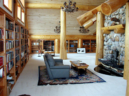Back to roots back to wood with log home interiors  Ruartecontract Blog