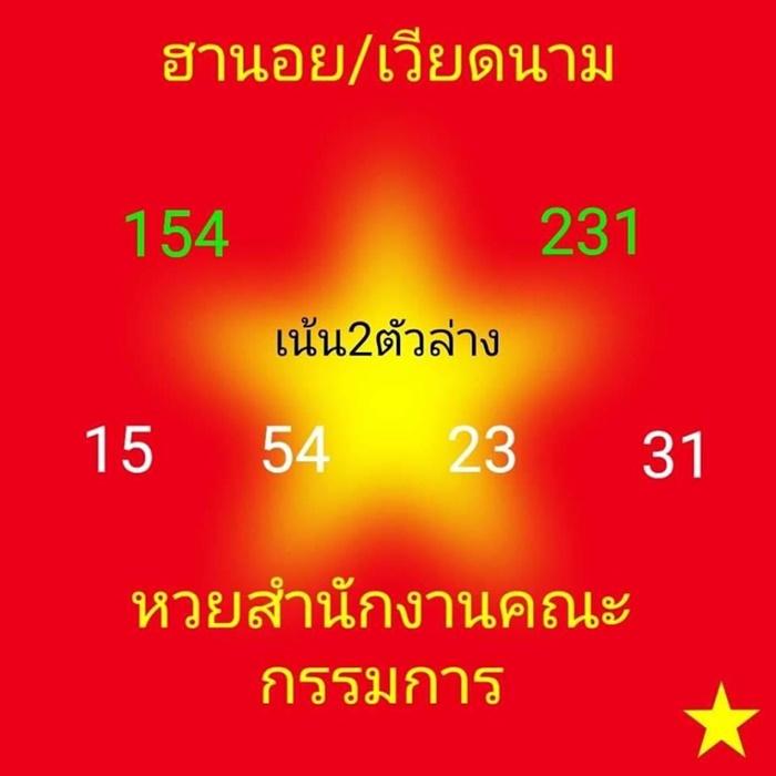 แนวทางเลขเด็ด หวยฮานอย / ฮานอย vip งวดวันพุธที่ 27/05/63 ...