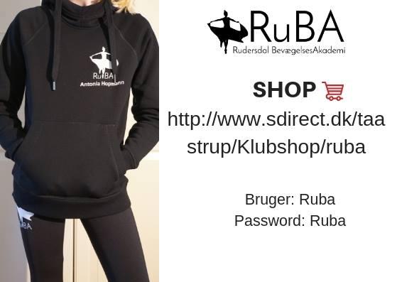 Ny webshop med lækkert RuBA-tøj!!