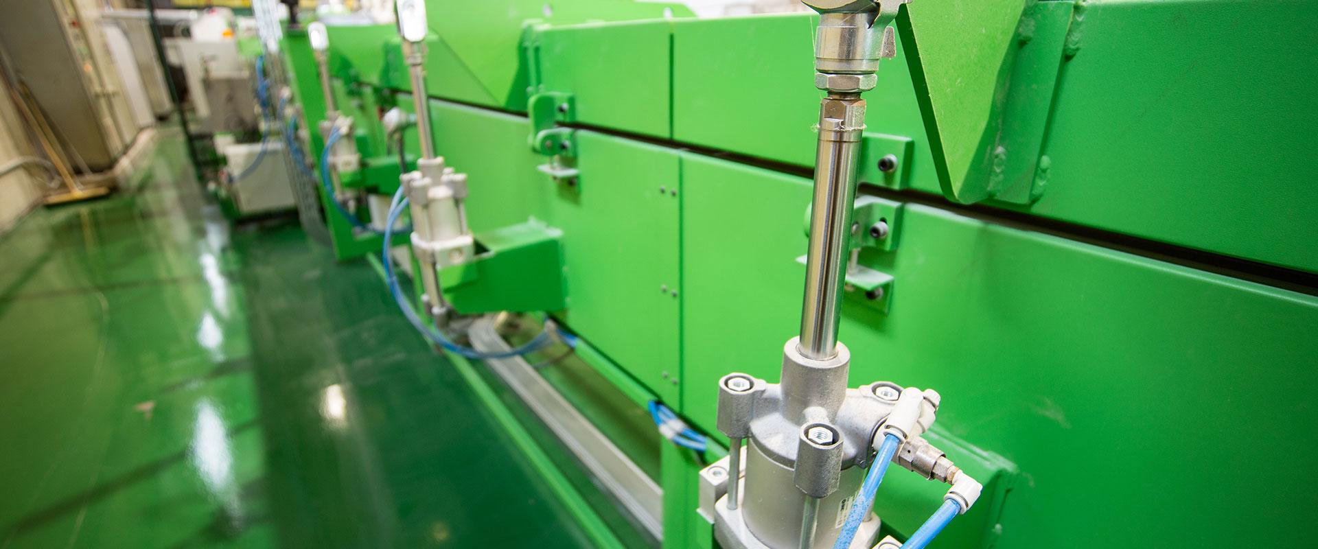 Maquinaria fabricación Gomas Ancla
