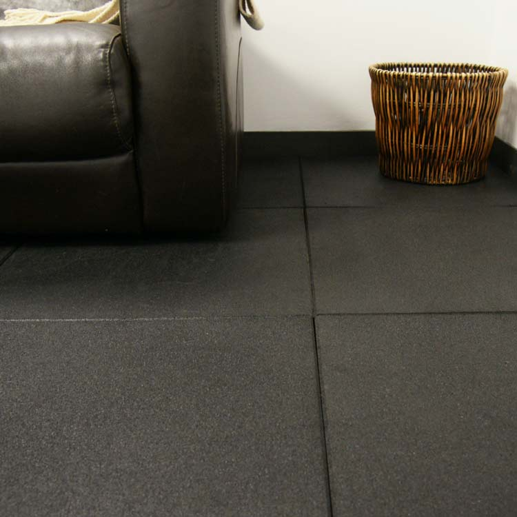 """ecosport 34inch"" Interlocking Rubber Flooring Tiles"