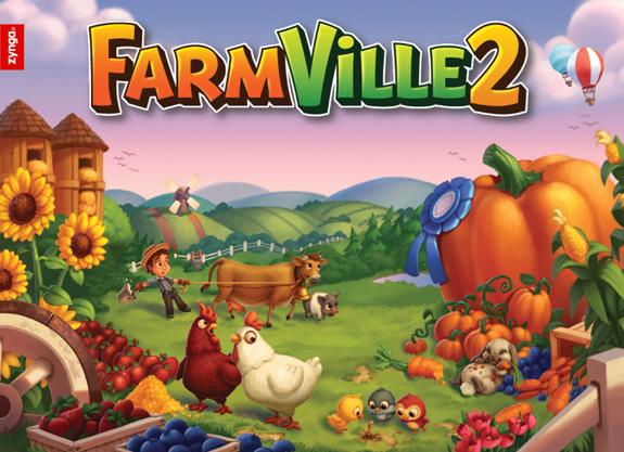 Fui experimentar FarmVille 2, mas não agarrei.