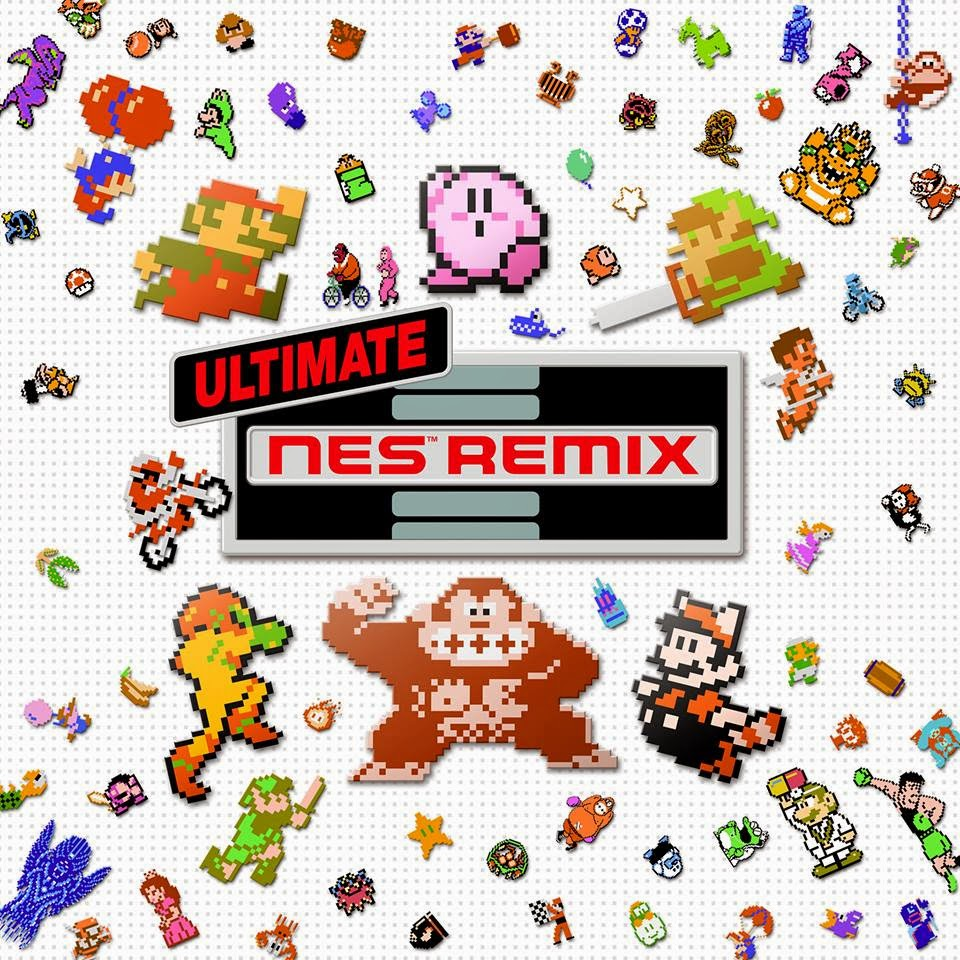 Ultimate NES Remix 3DS Nintendo Blast