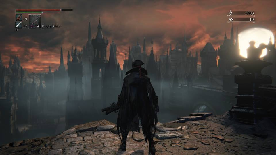 Aoussa in Bloodborne