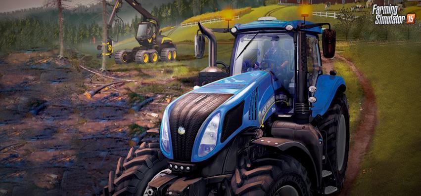 Farming Simulator 2015 - Como é Boa a Vida no Campo