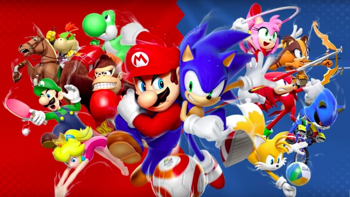Mario & Sonic at the Rio 2016 Olympic Games  (1)