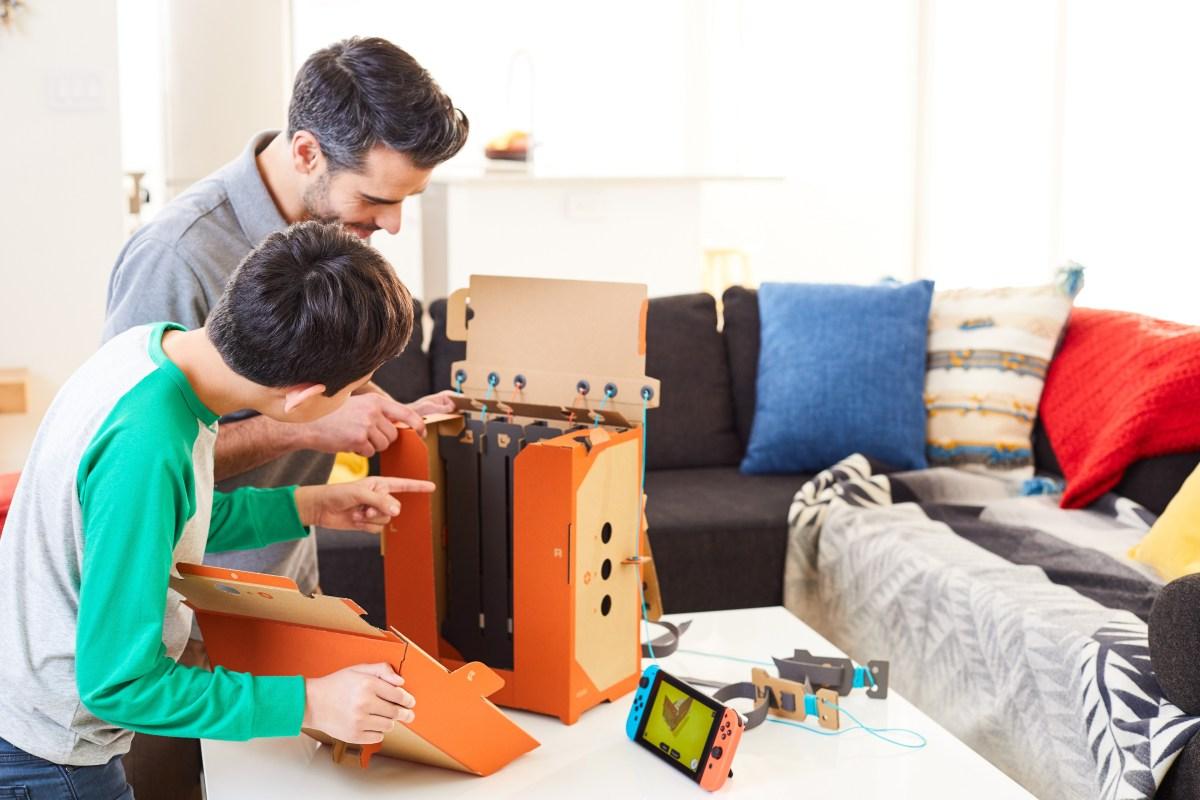 Labo: a Nintendo quer-nos de volta à brincadeira