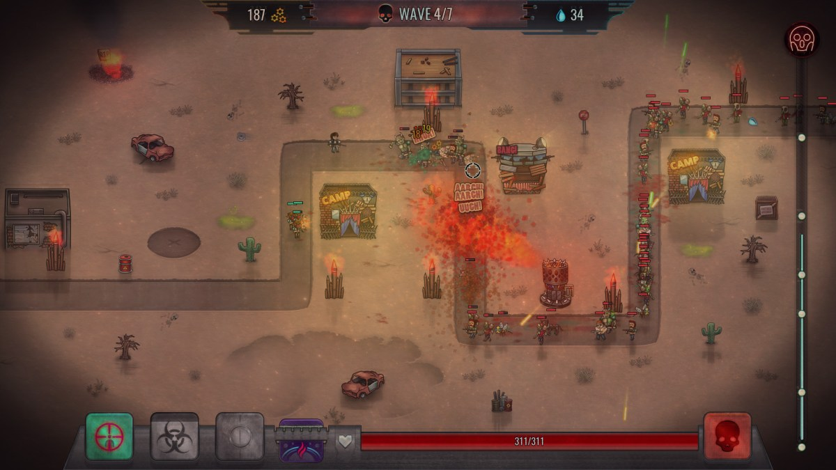 Dead Ground, terreno fértil para amantes de tower defense. Só.