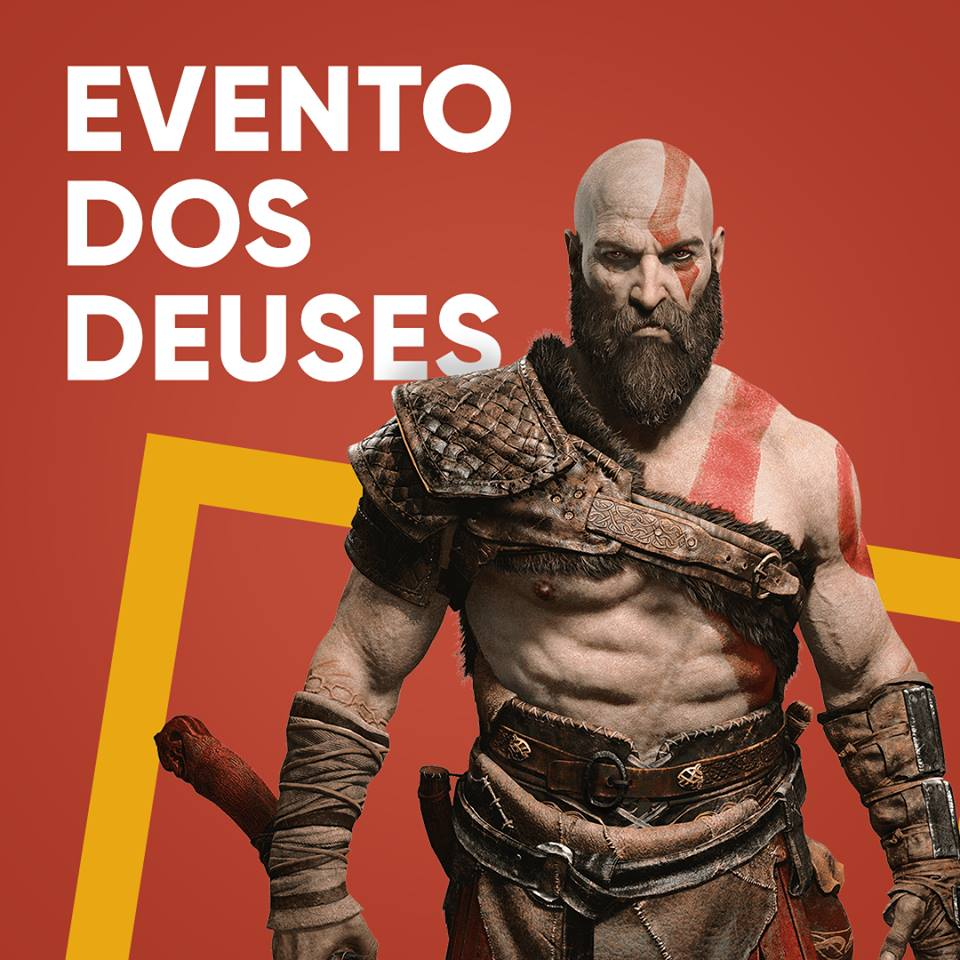 Kratos e as Galinhas na FNAC do NorteShopping