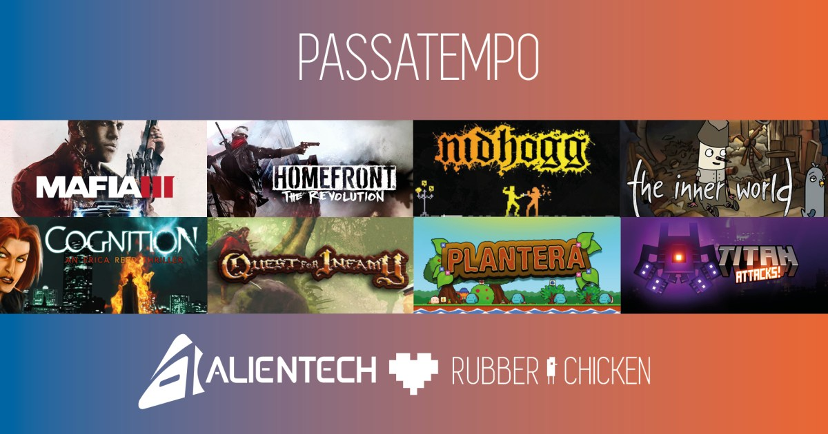 [Vencedor] Passatempo AlienTech + Rubber Chicken