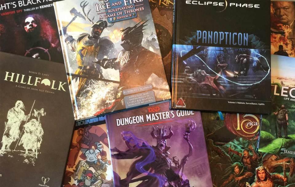 RPGs de Mesa e a Ideia por Detrás do Design