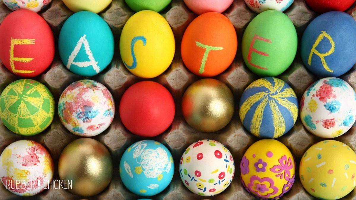 Ovos da Páscoa e outras surpresas!