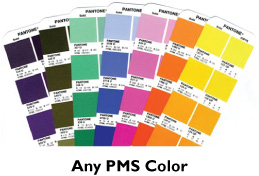 any PMS color imprint