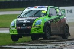 Chris Mullen gets airbourne