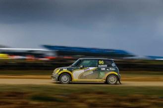 BMW Mini Driver Bradley Durdin secured third place