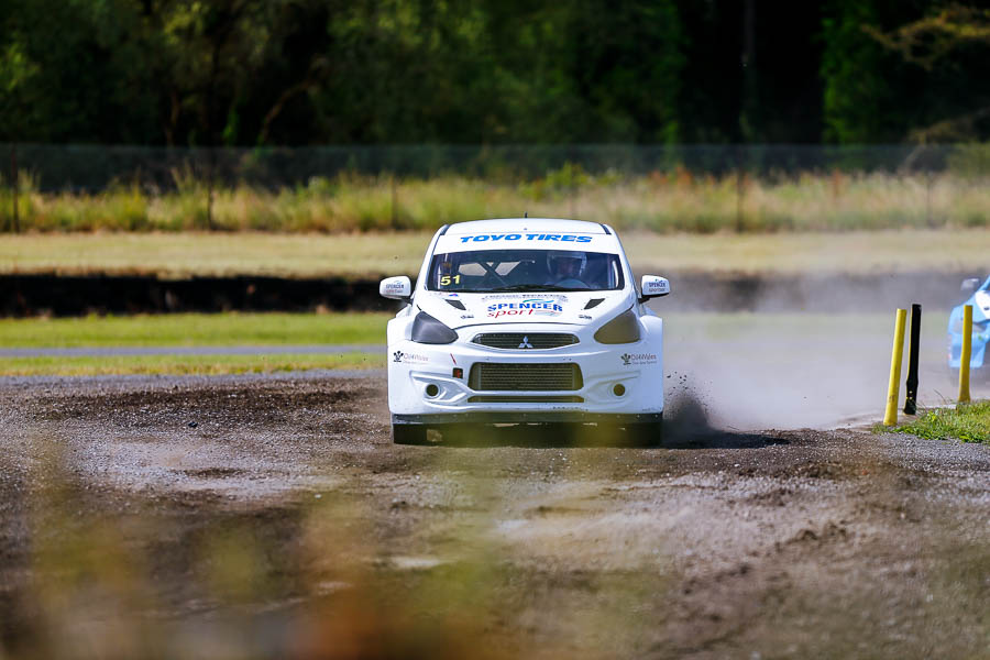 Great to See Julian Godfrey out in his freshly rebuilt Mitsubishi Mirage