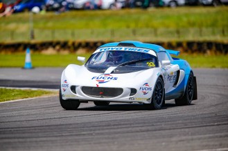 Paige Bellerby was back out in her rebuilt Lotus