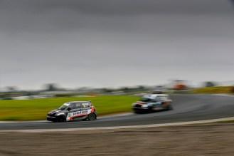 Swift Sport Driver Rob Maynard leading the way.