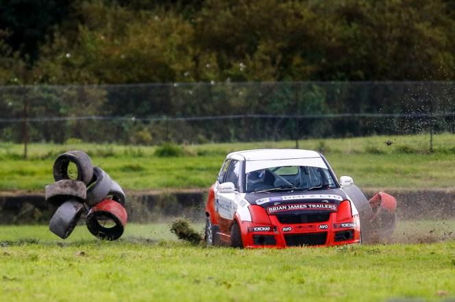 Swift Rallycross front runner Rob Shield