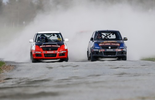 Battling Swifts on the loose at Croft at the opening round of 2017