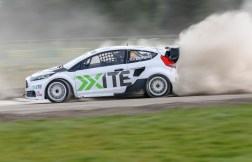 Ollie Bennett on his debut at Croft March 2017