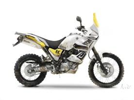 Tenere 660 Rally Yellow dirt