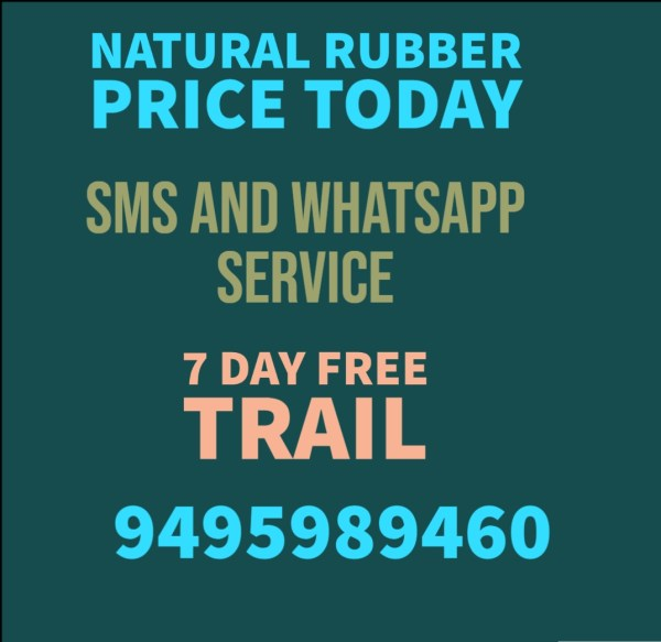 Natural Rubber Price Today will help you to understand rubber market situation now