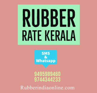 rubber rate kerala