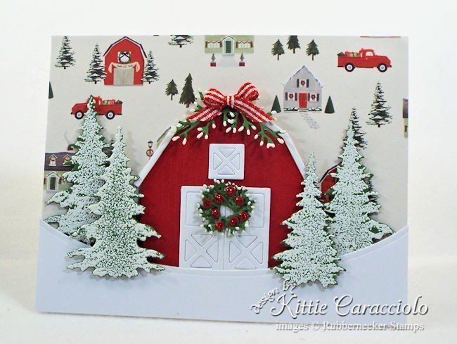 Rubbernecker Stamps Blog Come-see-how-I-made-this-classic-Christmas-barn-scene.