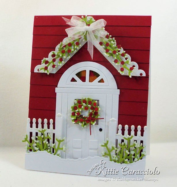 Rubbernecker Stamps Blog Come-see-how-I-made-this-handmade-door-card-for-Christmas.