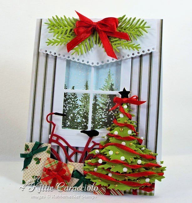 Rubbernecker Stamps Blog Come-see-how-I-made-this-layered-Christmas-tree-card.-2