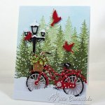 Rubbernecker Stamps Blog Come-see-how-I-made-this-snowy-Chritmas-card.