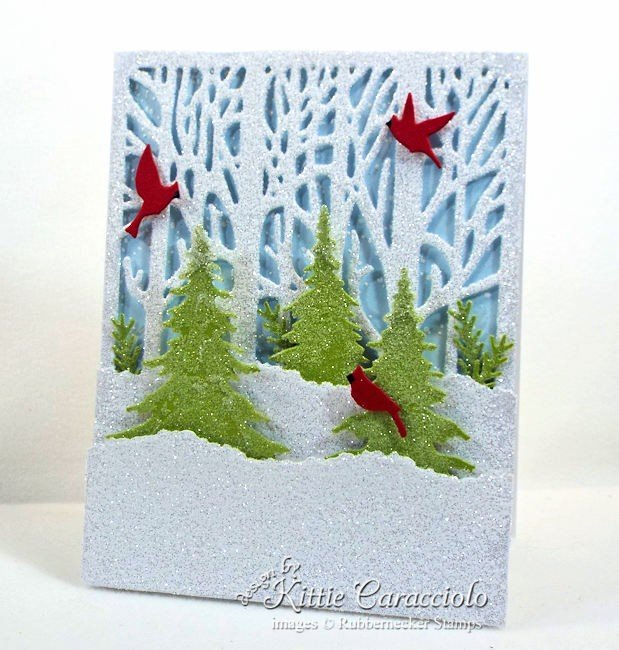 Rubbernecker Blog Come-see-how-I-made-this-winter-scene-Christmas-card.