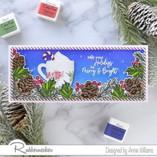 Rubbernecker Blog Christmas-Mug-Slimline-Card-by-Annie-Williams-Main