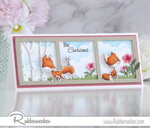 Rubbernecker Blog Curious-Foxes-Slimline-Card-by-Annie-Williams-for-Rubbernecker-Final-500x429